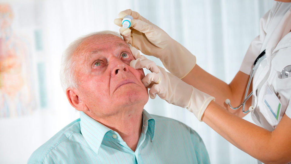 Реабилитация пожилых после катаракты  в пансионате Гармония
