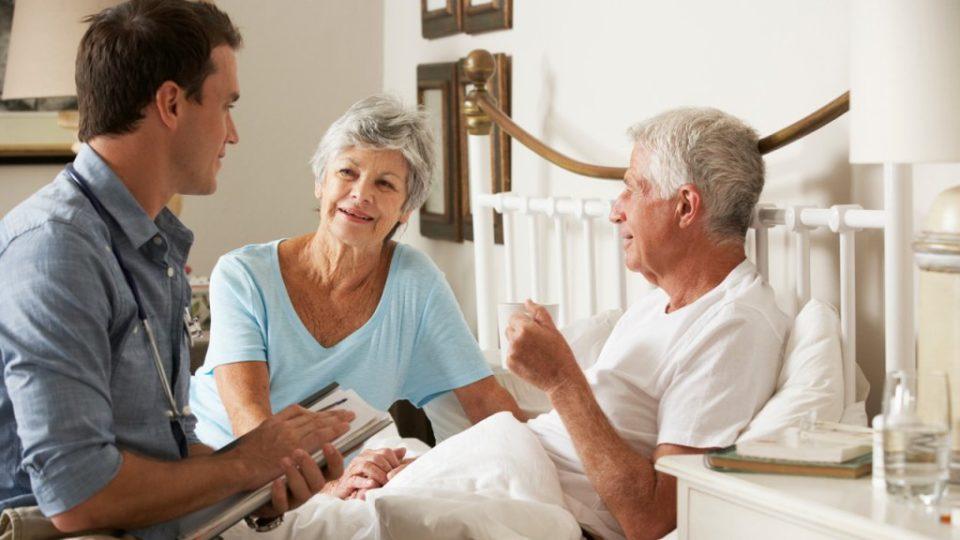 Уход за онкобольными пожилыми людьми