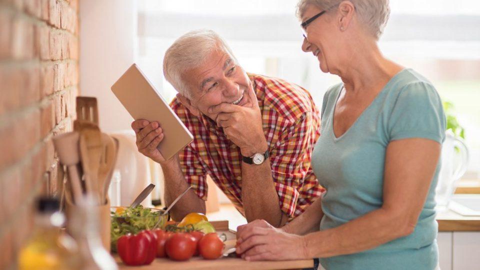 Полезное питание для стариков