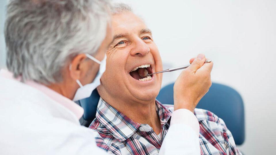 Уход за ротовой полостью в пожилом возрасте