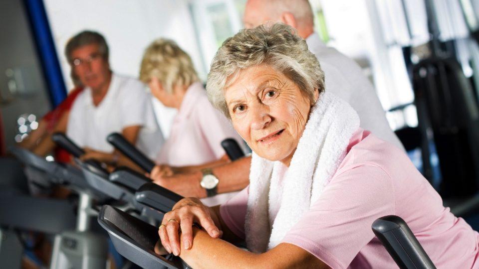 Фитнес для пожилых людей