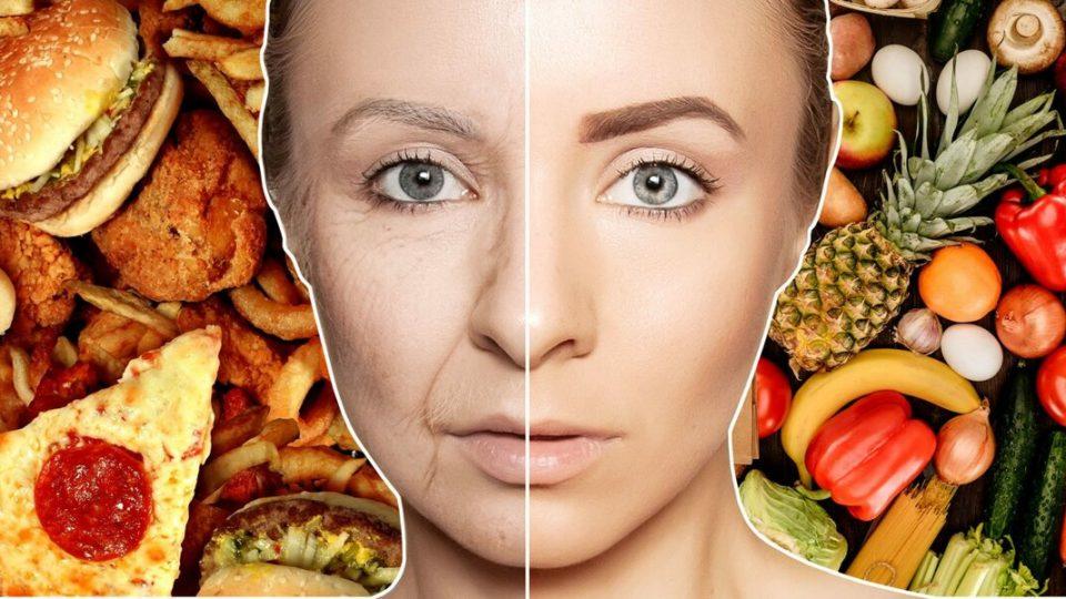 Продукты замедляющие процесс старения